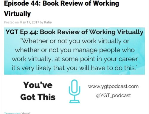Episode 44: Book Review of Working Virtually – You've Got This
