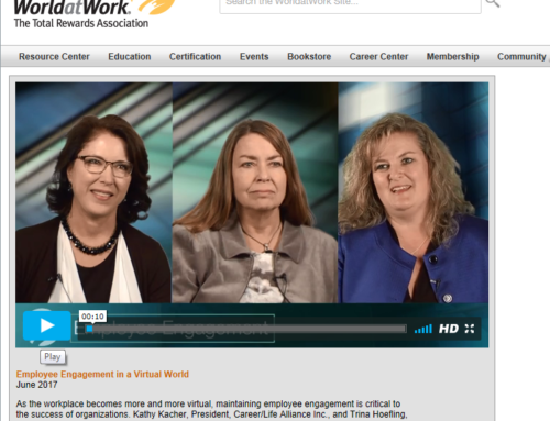 WorldatWork TV Video Interview with Trina & Kathy on Employee Engagement in a Virtual World